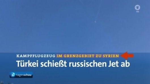 Screenshot aus dem ARD-Programm