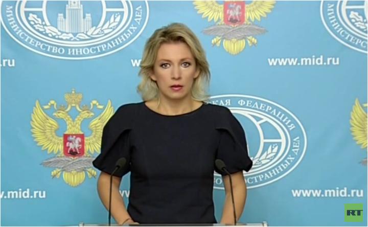Live: Wöchentliches Pressebriefing Maria Zacharowas in Moskau - englische Übersetzung