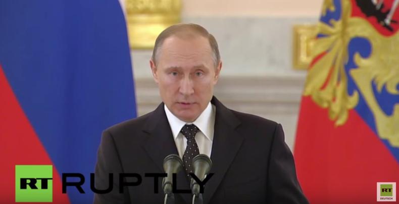 Putin: Wir haben bis heute keine Entschuldigung der Türkei erhalten