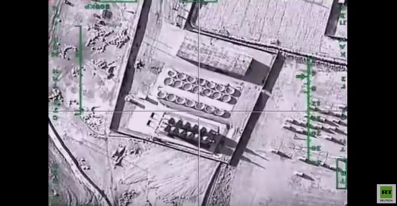 Syrien: Russland zerstört großes Öllager von Terroristen in der Nähe von Rakka