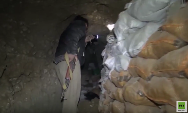 Kilometerlanges Tunnelnetz des IS im Irak entdeckt – Komplett zum Überleben ausgestattet