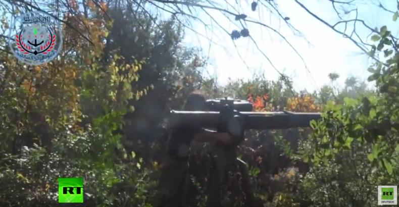 Syrien: FSA-Video zeigt Angriff mit US-gefertigter TOW-Rakete auf RT-Journalisten