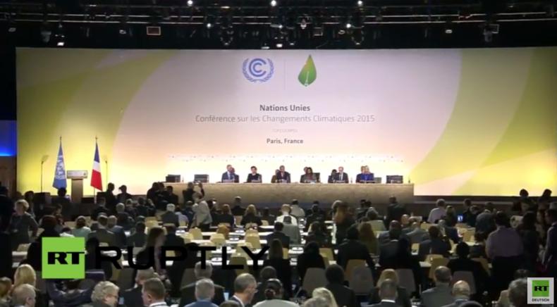 Live: UN-Klimakonferenz in Paris - COP 21