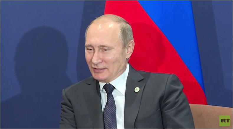 Live: Putin gibt Pressekonferenz am Rande des 21. Klimagipfels in Paris