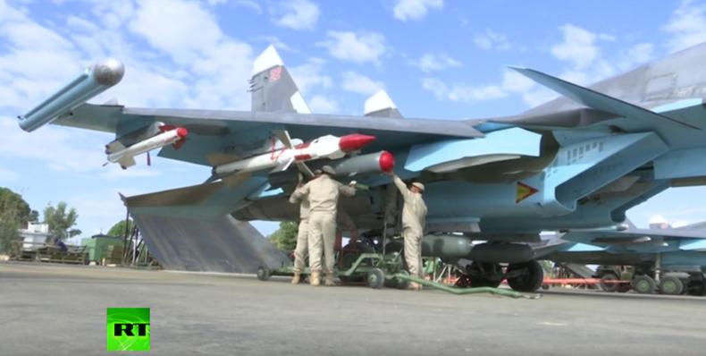 Syrien: Russische Su34-Kampfjets zum eigenen Schutz nun mit Luft-Luft-Raketen ausgestattet