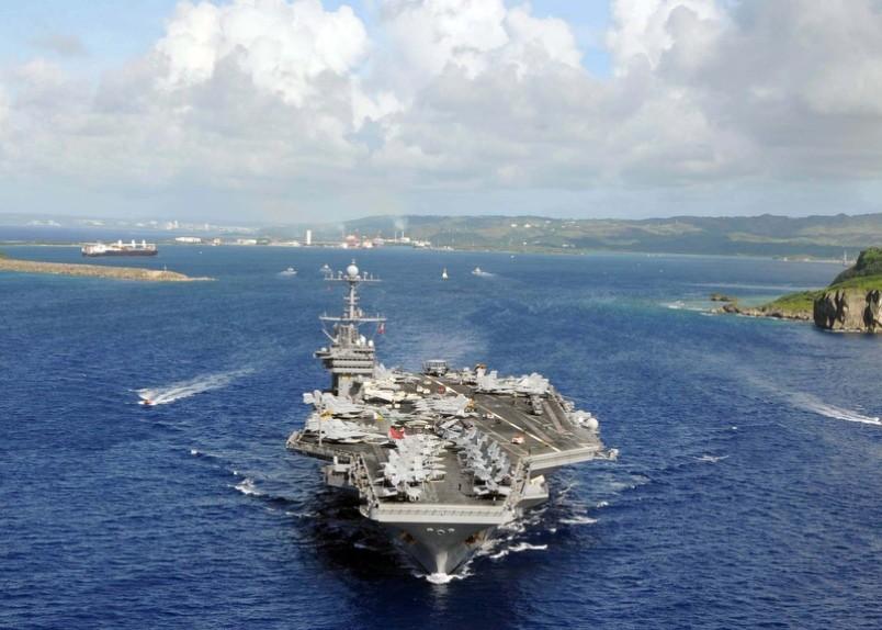 US-Flugzeugträger USS George Washington begibt sich auf den Weg nach Venezuela (Symbolbild)