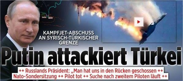 Nach Abschuss von russischem Kampfjet: ARD und BILD verdrehen bewusst die Fakten