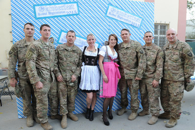Auch das Oktoberfest darf in Afghanistan nicht fehlen. Quelle: ResoluteSupportMedia. Some rights reserved