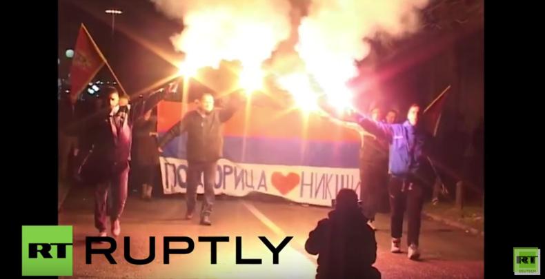 Montenegro: Tausende protestieren gegen Regierungspläne zum NATO-Beitritt