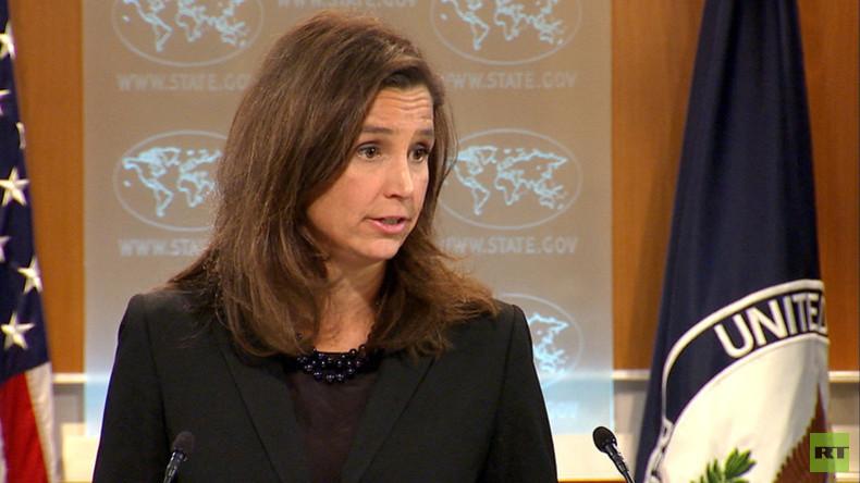 RT fragt US-Außenamt: Glauben die USA, dass Su-24 im syrischen Luftraum abgeschossen wurde?