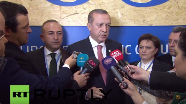"""""""Rücktrittsversicherung"""": Erdogan fordert Beweise für Behauptungen, die Putin nie aufgestellt hat"""