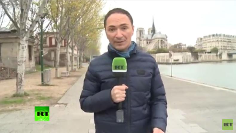 """""""Habe endlich Redefreiheit"""" - Französischer TV-Wettermann Verdier berichtet jetzt für RT über COP21"""