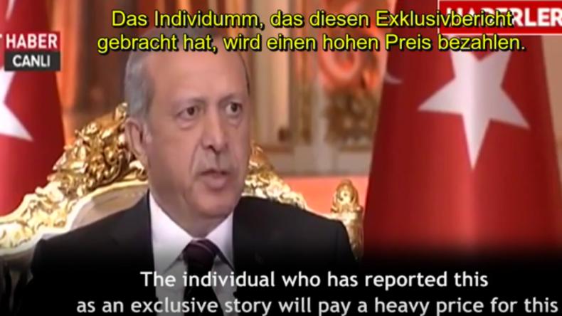 """Erdogan 2014: """"Presse nirgends freier als in der Türkei"""" - Jetzt droht Journalisten lebenslange Haft"""