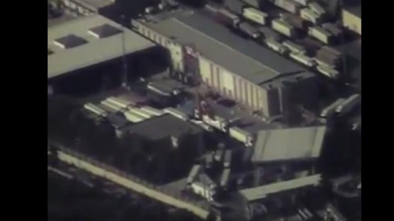 Russlands Luftaufnahmen von Öl-Lieferungen aus Terroristengebieten in Syrien in die Türkei