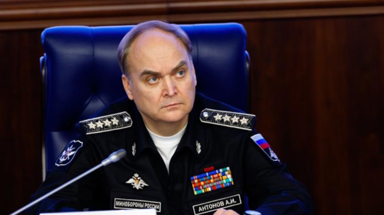 Rede des Vize-Verteidigungsministers Russlands zu Implikationen der Türkei in IS-Öl-Schmuggel