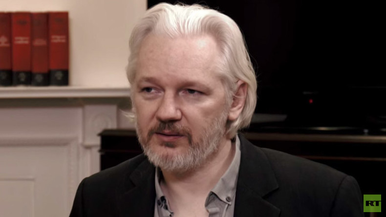 Julian Assange im RT-Interview