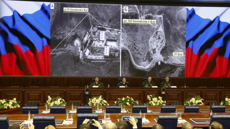 Russisches Oberkommando: Trotz Beweislast, US-Koalition greift noch immer keine IS-Öltransporter an