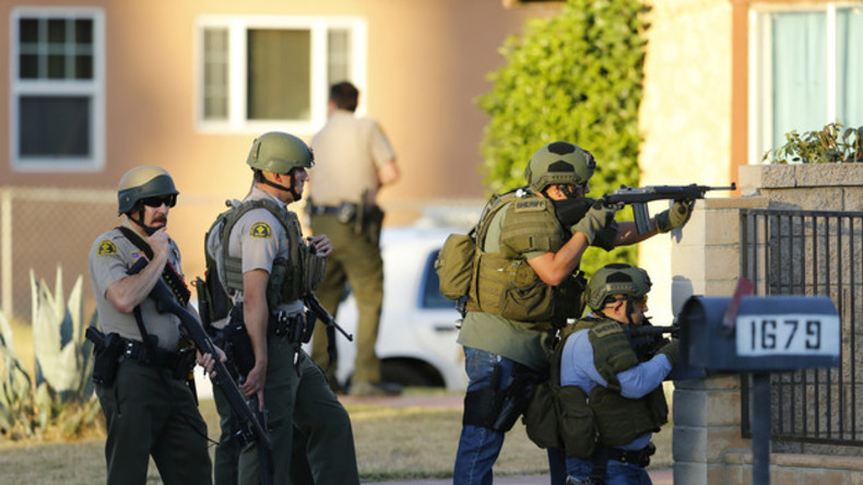 Verdächtige des Kalifornien-Massakers von Polizei erschossen - Motiv noch unklar