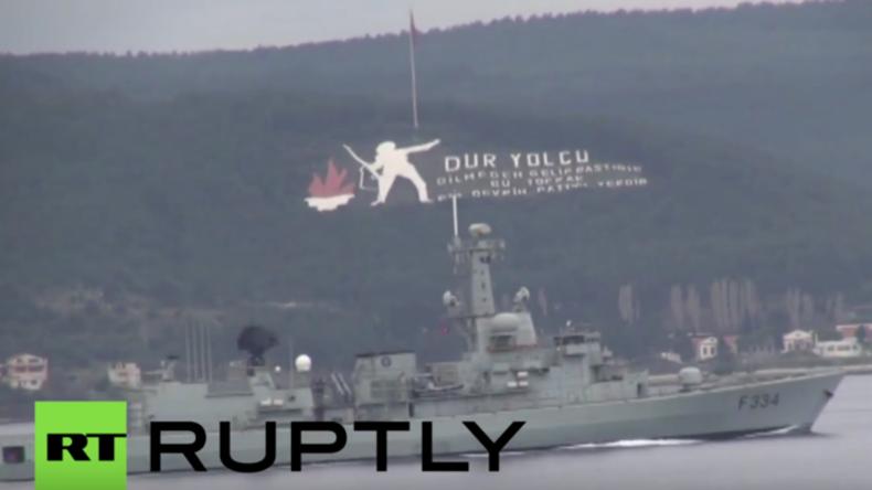 Drei NATO-Schiffe erreichen Schwarzes Meer - Spannungen zwischen Allianz und Russland