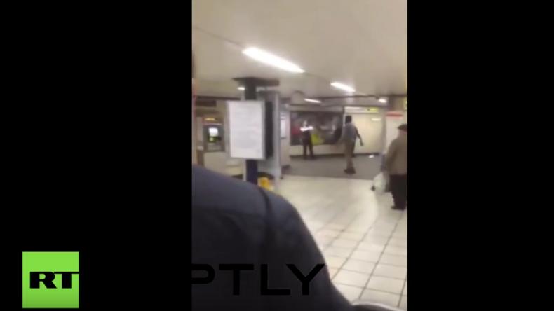 """Terrorattacke in Londoner U-Bahn-Station: """"Das ist für Syrien!"""""""