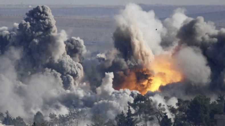"""""""Akt der Aggression"""" - Damaskus verurteilt US-Luftangriff auf syrische Bodentruppen"""
