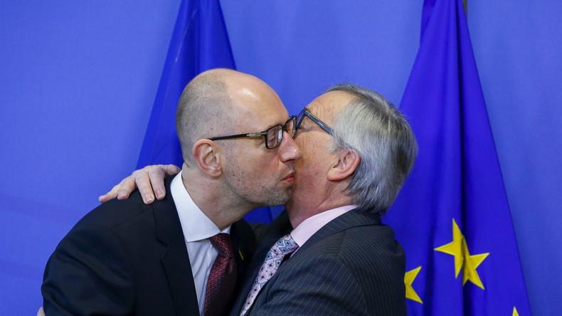 Neujahrsüberraschung? Freihandelsabkommen zwischen EU und Ukraine tritt am 1. Januar 2016 in Kraft