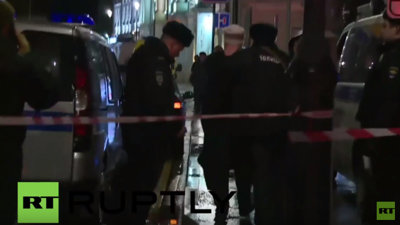 Russland: Fünf Verletzte nach Explosion an Haltestelle in Moskau