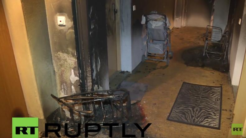 Brandanschlag auf Flüchtlingsunterkunft in Altenburg: 10 Verletzte, darunter ein Baby