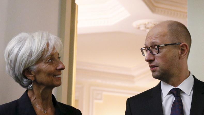 IWF will extra Regelwerk ändern, um der Ukraine neue Kredite gewähren zu können