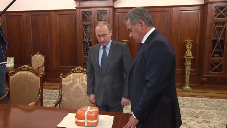 Moskau präsentiert die Black-Box der durch die Türkei abgeschossenen Su-24