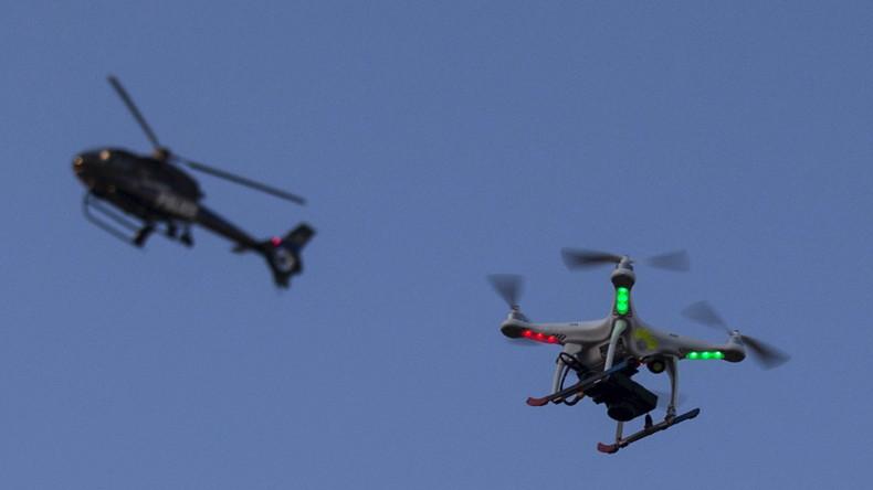 Aufrüstung am Himmel: US-Polizeidrohnen sollen künftig Tränengas versprühen