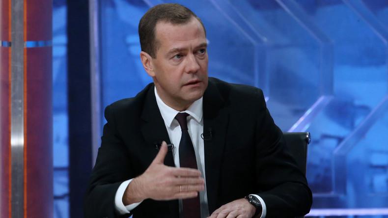 Medwedew: SU-24 Abschuss wäre Kriegsgrund gewesen, aber wir entschieden uns gegen Eskalation