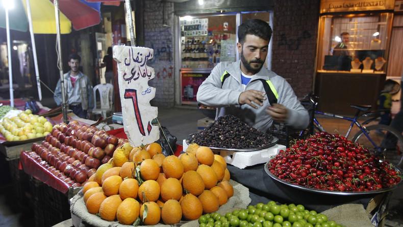 Syrien kompensiert türkische Exportausfälle und entsendet 700.000 Tonnen Zitrusfrüchte nach Russland