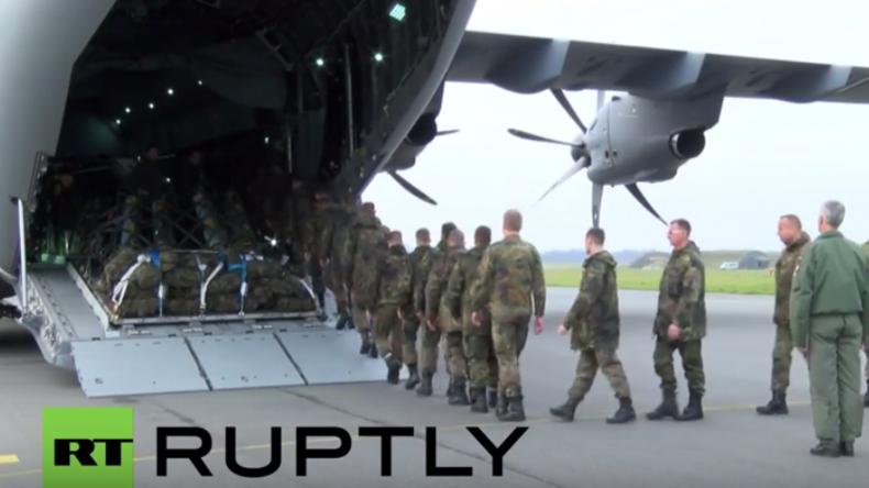 """""""Unter Einhaltung des Völkerrechts"""": Luftwaffe startet Anti-IS-Einsatz in Syrien"""
