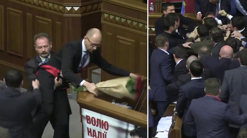Ukrainische Demokratie in der Rada - Wie sie lebt und schlägt