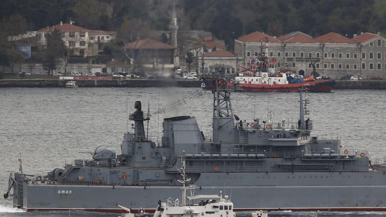 Provokationen türkischer Zivilschiffe vertiefen Belastung der Beziehungen mit Russland