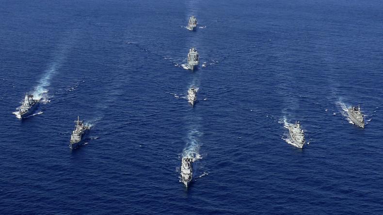 """""""In Reaktion auf russische Marine"""" - NATO entsendet dutzende Kriegsschiffe ins östliche Mittelmeer"""