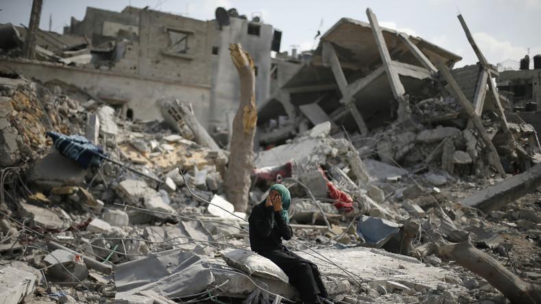 """""""Weitflächige Zerstörung"""" - Nach Raketeneinschlag fliegt Israel erneut Angriffe auf Ziele in Gaza"""