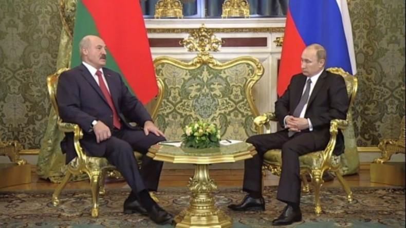 Live: Putin und Lukaschenko geben gemeinsame Pressekonferenz in Moskau
