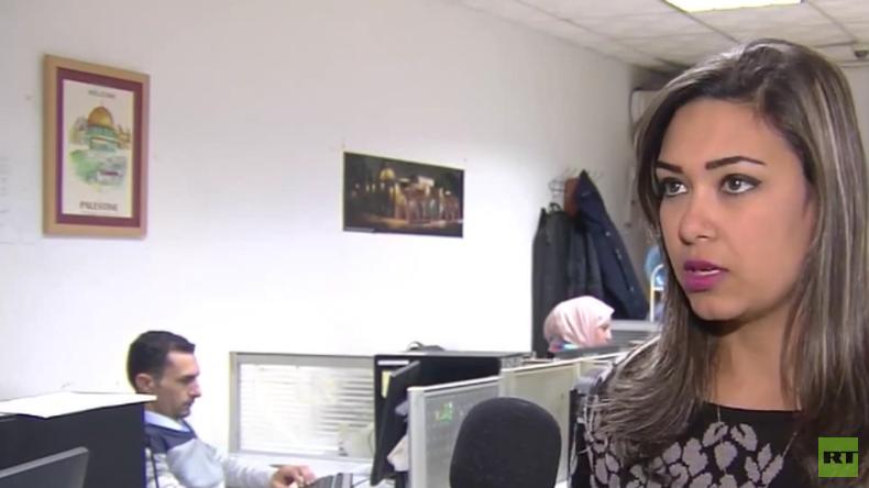 """RT-Interview mit von IDF-Soldaten """"getrollter"""" palästinensischer Journalistin"""