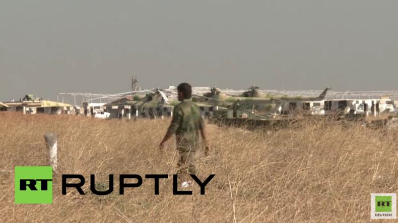 Syrien: Syrische Luftwaffe führt erste Einsätze von zurückeroberter Kuweires-Luftwaffenbasis aus