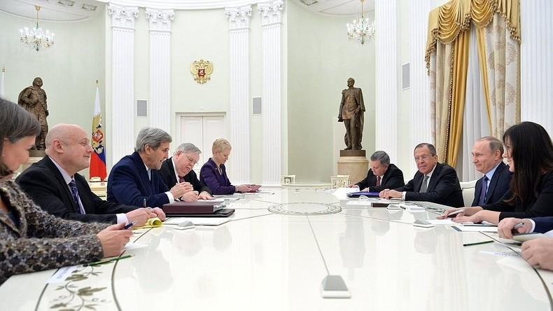 """US-Außenminister lobt """"konstruktive Diplomatie"""" zwischen Russland und den Vereinigten Staaten"""