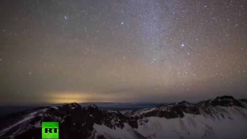 Naturspektakel in Jilin: Geminiden-Regen am chinesischen Nachthimmel