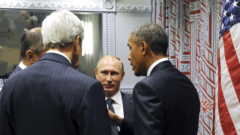 Obama unter Zugzwang - USA nähern sich russischer Position im Syrien-Konflikt an