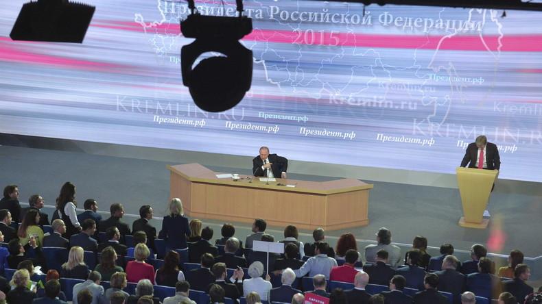 Putins Jahres-Pressekonferenz 2015: Die wichtigsten Aussagen