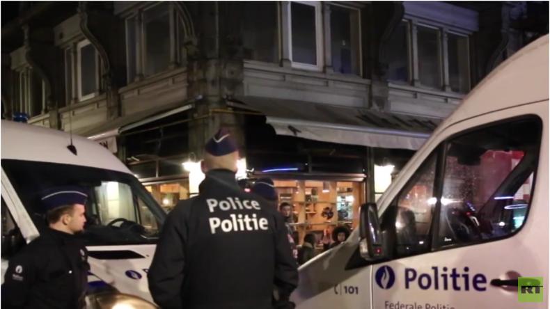 Belgien: Festnahme nach Polizeirazzia in Brüssel in Verbindung mit Paris Attentaten