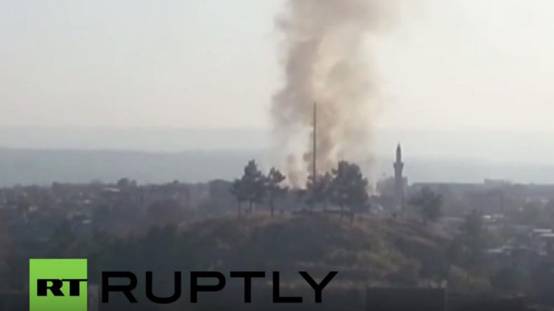 Türkei: Schüsse und Explosionen - Heftige Kämpfe gegen kurdische Gruppen in Diyarbakir