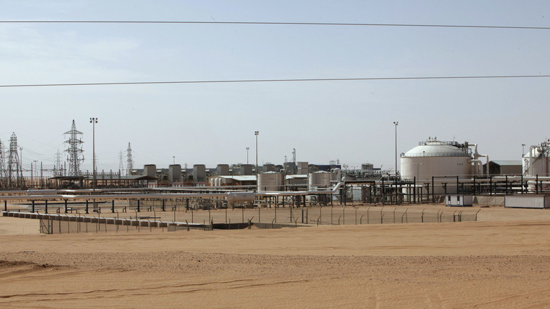 Blick auf das libysche Öl-Feld El Sharara
