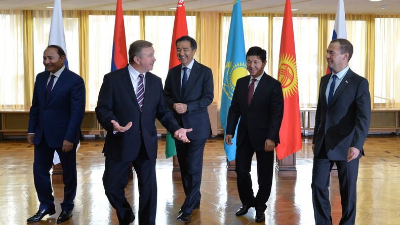 Eurasische Wirtschaftsunion und Organisation über kollektive Sicherheit tagen in Moskau