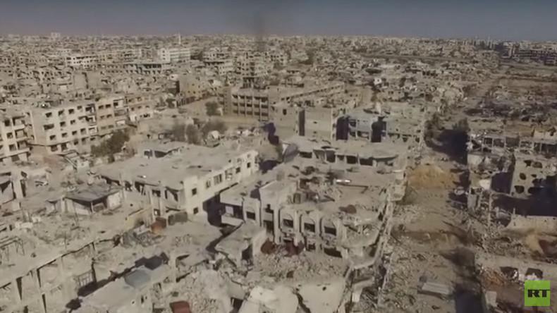 RT-Exklusiv aus Syrien: Apokalyptische Szenen in Damaskus